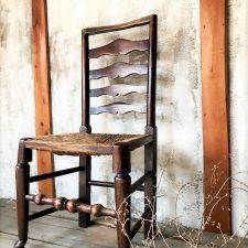 編み椅子 ラッシュチェア