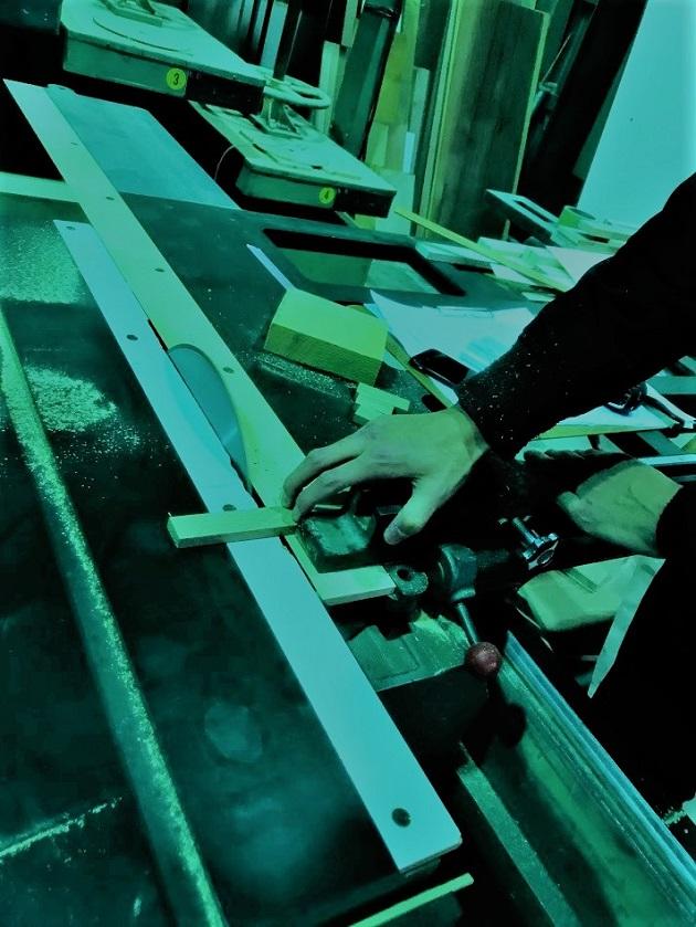 高砂ショウハウスクリエイティ部クリスマスオーナメント作りの会場スギタニ木工