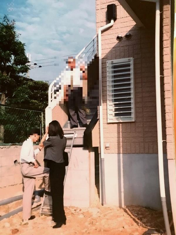 明石支店インテリアコーディネーター時代の現場写真