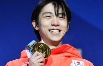 平昌オリンピック羽生選手金メダル