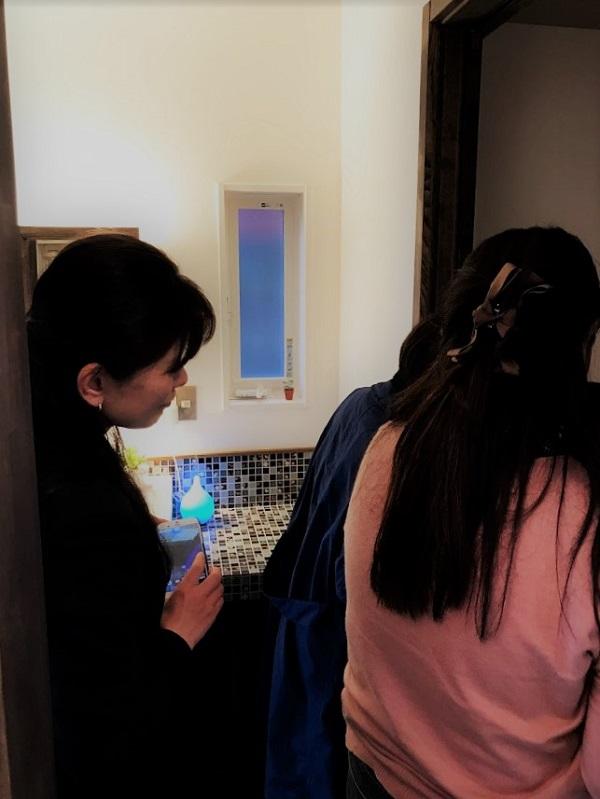 山本純子さん宅を見学