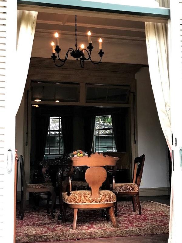 神戸・荘楽園の中にある旧ハッサム邸