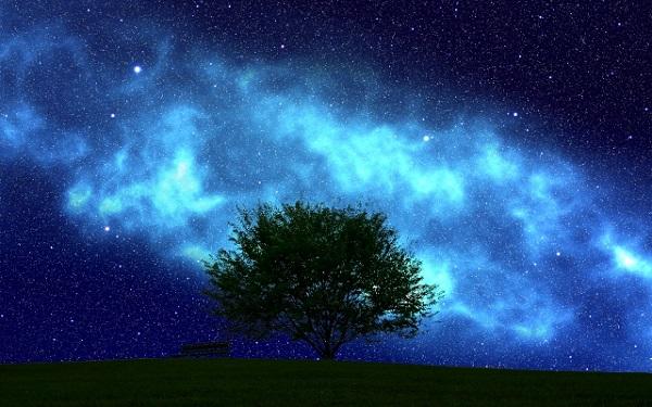 青は覚醒の色