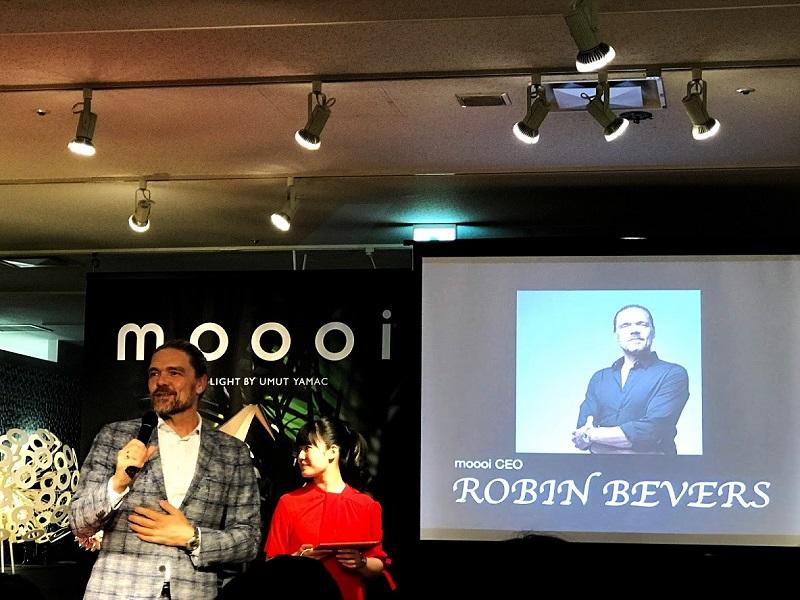 moooi CEO ロビン・ベバーズ