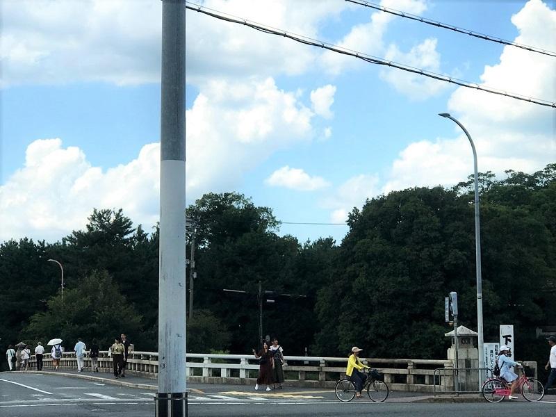 京阪出町柳駅下鴨茂神社