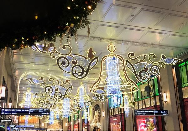 梅田阪急 クリスマス